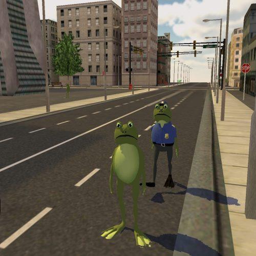 Frog Simulator City