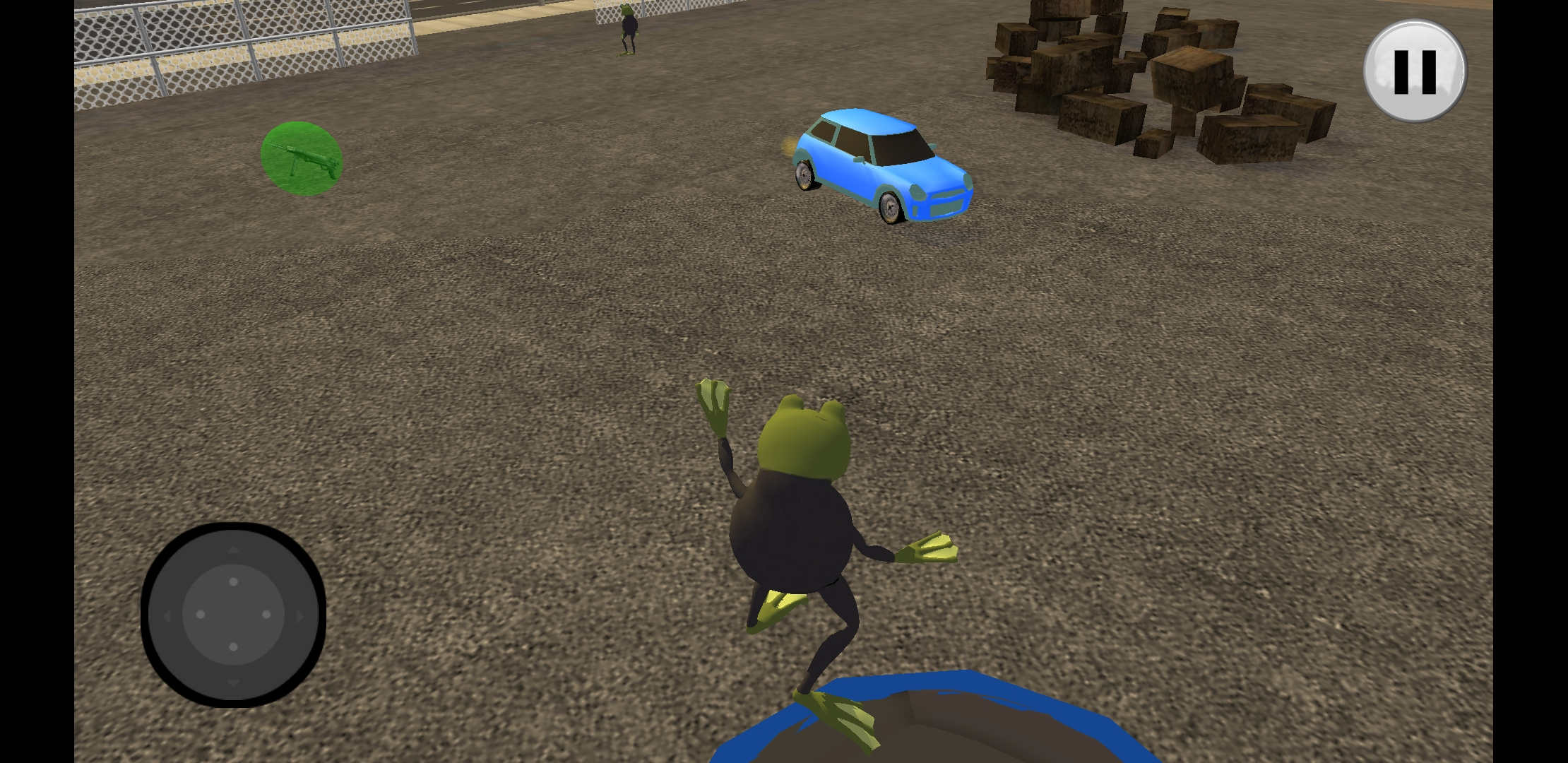 Frog Simulator City